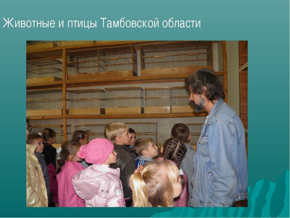 Животные и птицы Тамбовской области