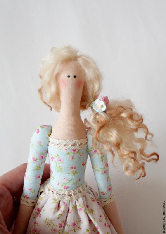 Кукла тильда сделать волосы