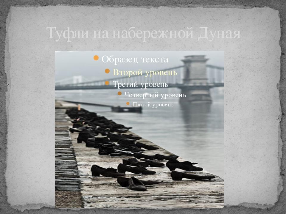 Туфли на набережной Дуная