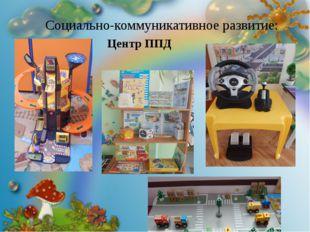 Социально-коммуникативное развитие: Центр ППД