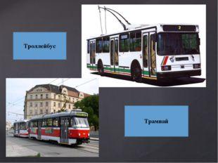 Троллейбус Трамвай