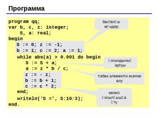 Программа program qq; var n: integer; begin repeat writeln('Введите положите