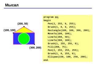"""Тапсырмалар """"4"""": Пернетақтадан штрих сызықтарының санын енгізе отырып фигура"""