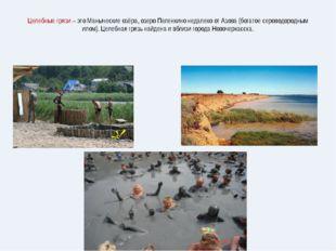 Целебные грязи – это Маныческие озёра, озеро Пеленкино недалеко от Азова (бог