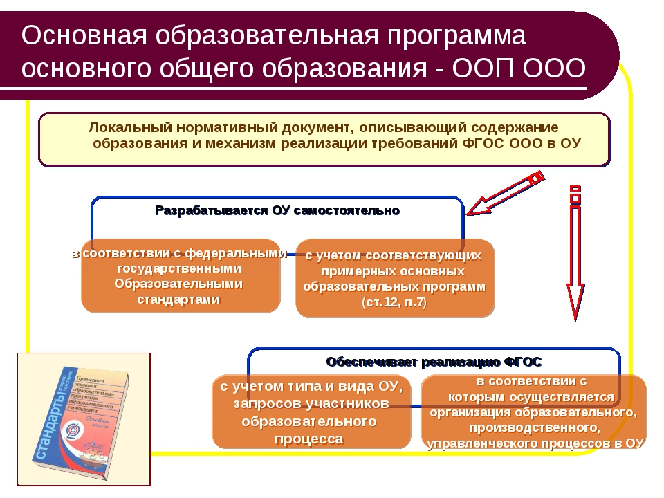 Основная образовательная программа основного общего образования - ООП ООО Лок...