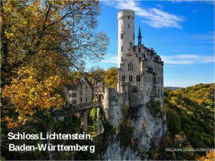 Schloss Lichtenstein, Baden-Württemberg http://www.schloss-lichtenstein.de/in
