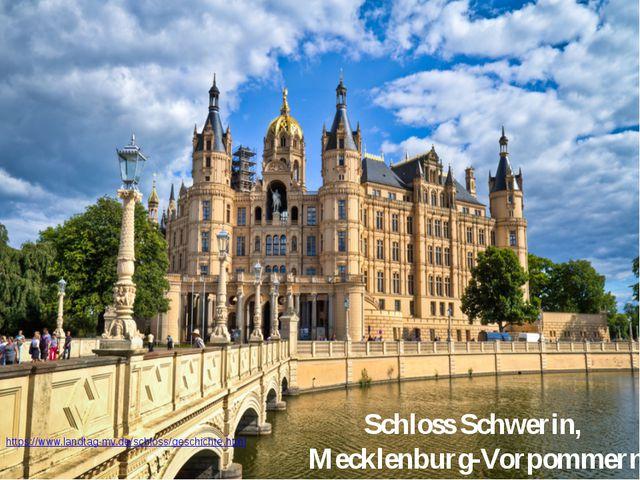 Schloss Schwerin, Mecklenburg-Vorpommern https://www.landtag-mv.de/schloss/g...