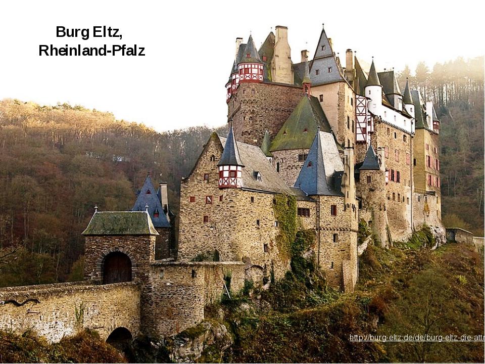 Burg Eltz, Rheinland-Pfalz http://burg-eltz.de/de/burg-eltz-die-attraktionen/...