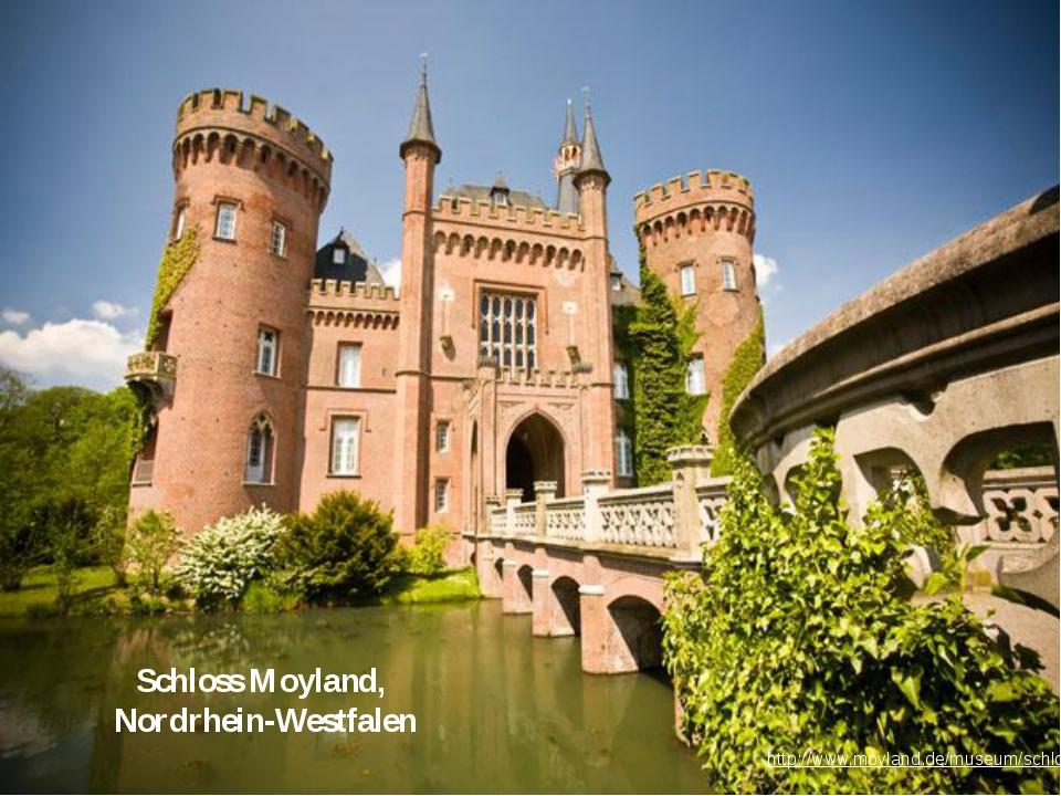 Schloss Moyland, Nordrhein-Westfalen http://www.moyland.de/museum/schloss-und...