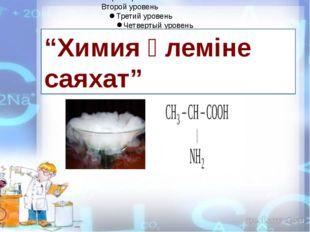 """""""Химия әлеміне саяхат"""""""