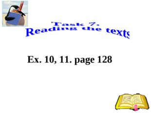 Ex. 10, 11. page 128