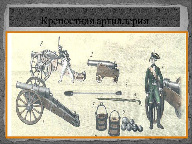 Крепостная артиллерия