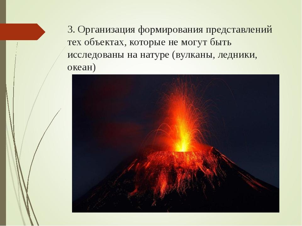 3. Организация формирования представлений тех объектах, которые не могут быть...