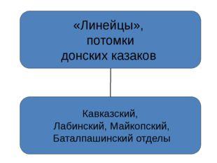 «Линейцы», потомки донских казаков Кавказский, Лабинский, Майкопский, Баталпа