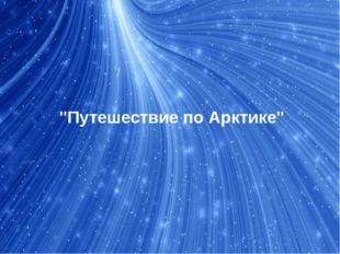 """Путешествие по Арктике"""