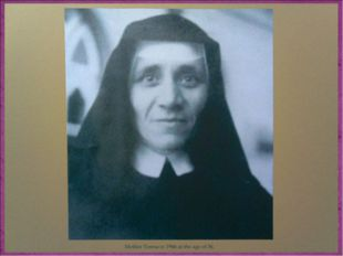She took her formal religious vows in 1931, and chose to be named after St Th