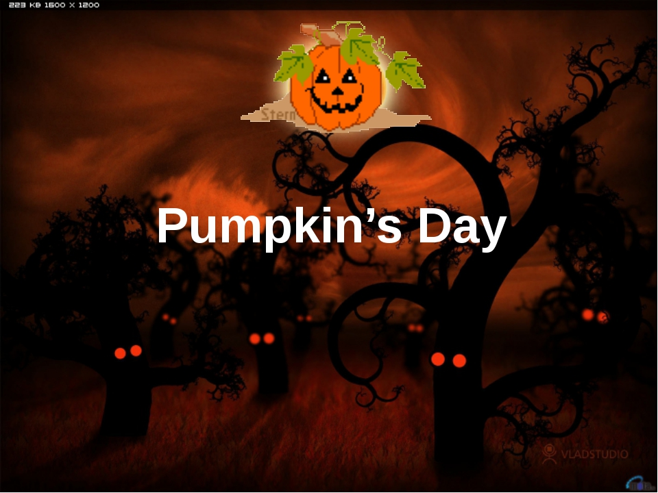 Pumpkin's Day