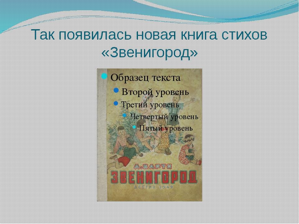Так появилась новая книга стихов «Звенигород»