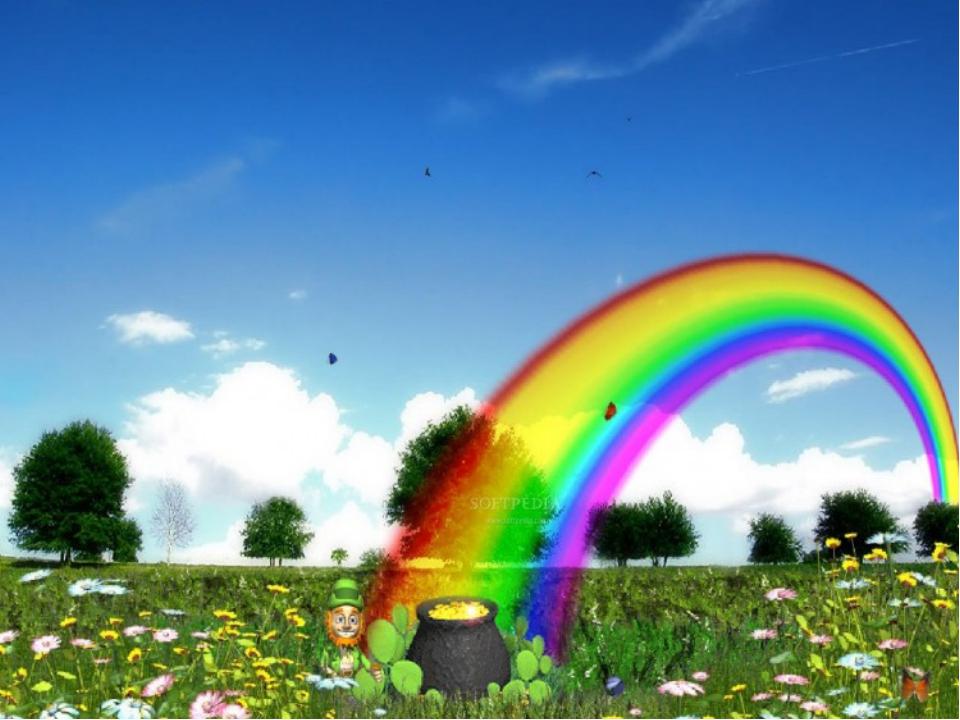 Картинка радуга счастье