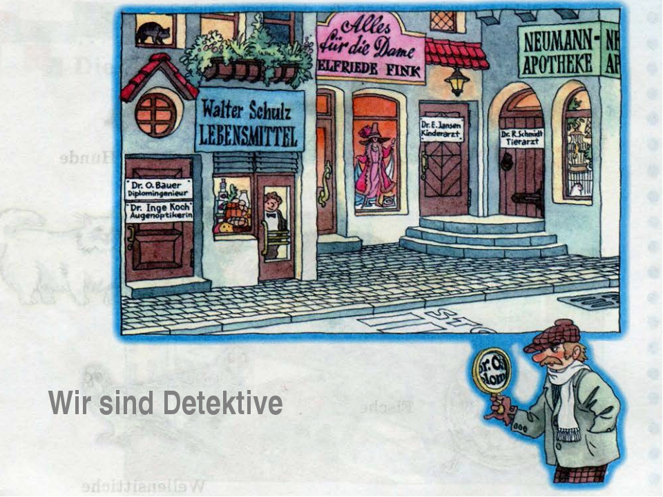 Wir sind Detektive