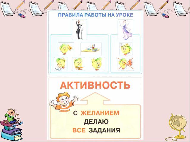 Главный герой – Колобок помогает вспомнить правила работы на уроке.