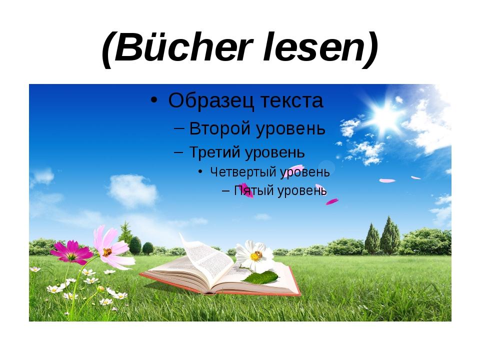 (Bücher lesen)