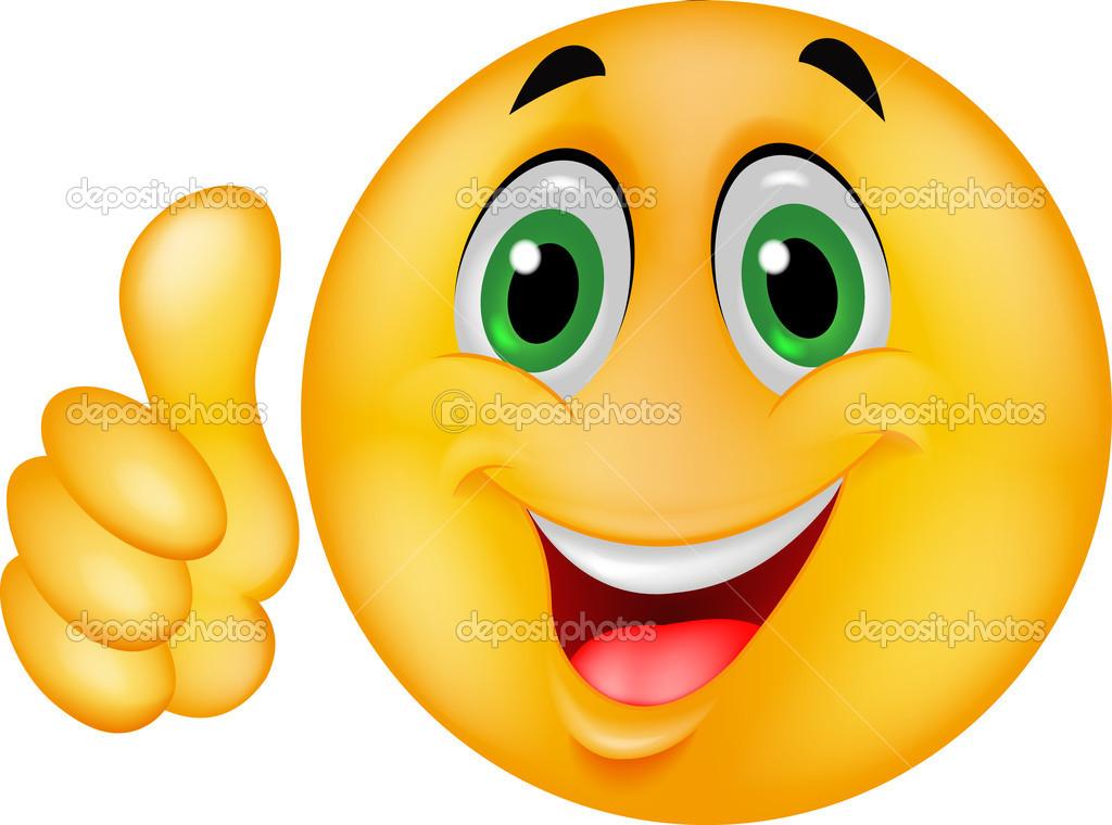 Счастливый смайлик смайлик - Стоковое векторное изображение Teguh Mujiono #18812923