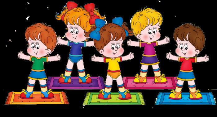 Скачать Дети картинки физкультура 3