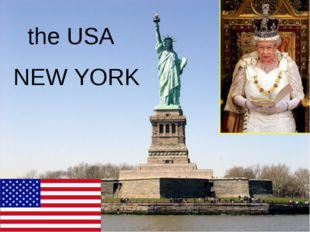 the USA NEW YORK