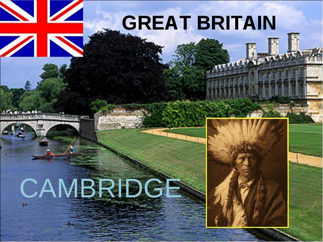 GREAT BRITAIN CAMBRIDGE