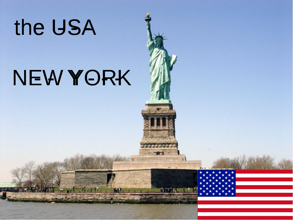 the - - - the USA N - - Y - - - NEW YORK