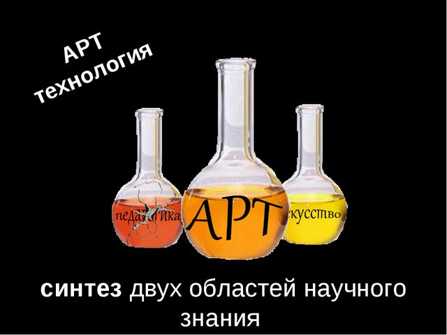синтез двух областей научного знания АРТ технология