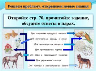 Решаем проблему, открываем новые знания