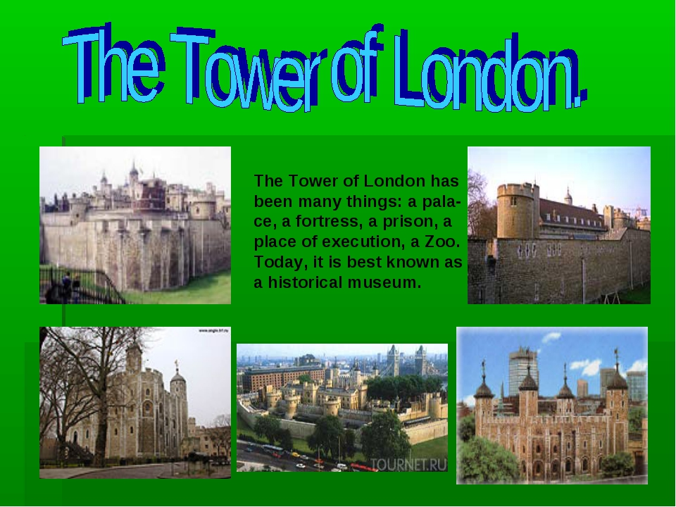 The Tower of London has been many things: a pala- ce, a fortress, a prison, a...