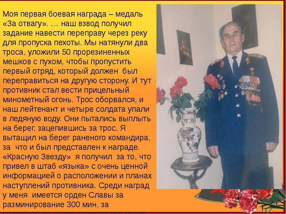 Атрохов Иван Петрович 04.06.25 - 03.05.05 Моя первая боевая награда – медаль...