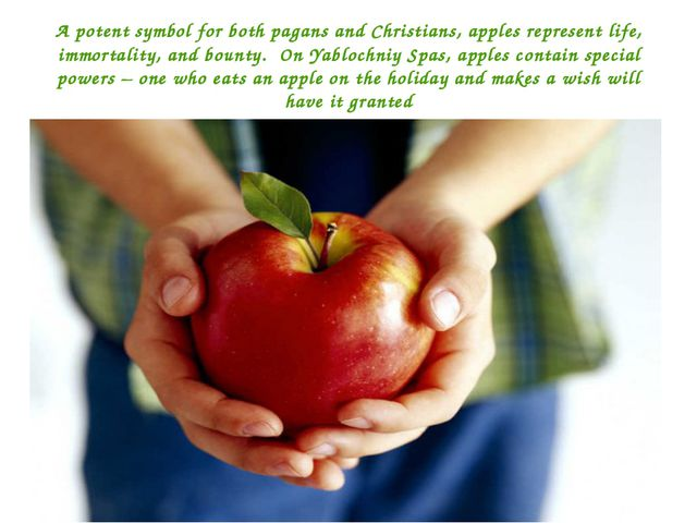 A potent symbol for both pagans and Christians, apples represent life, immort...