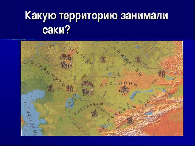 Какую территорию занимали саки?