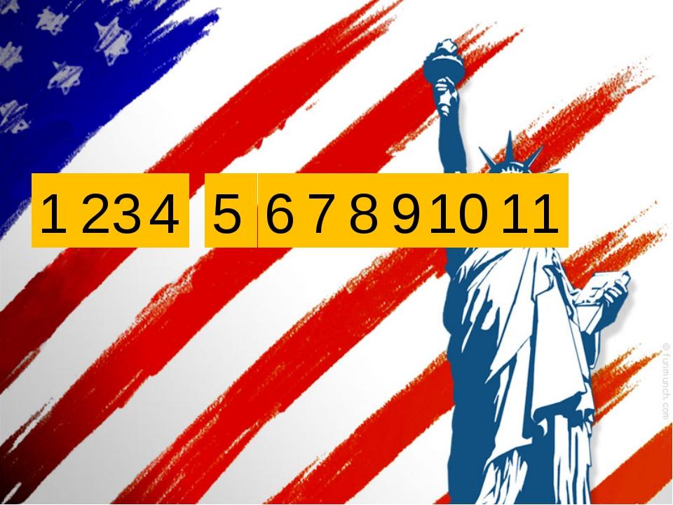 H i , A m e r i c a ! 1 4 3 2 5 6 7 8 9 10 11