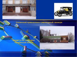 Каслинский промышленно-гуманитарный техникум находится на территории Челябин