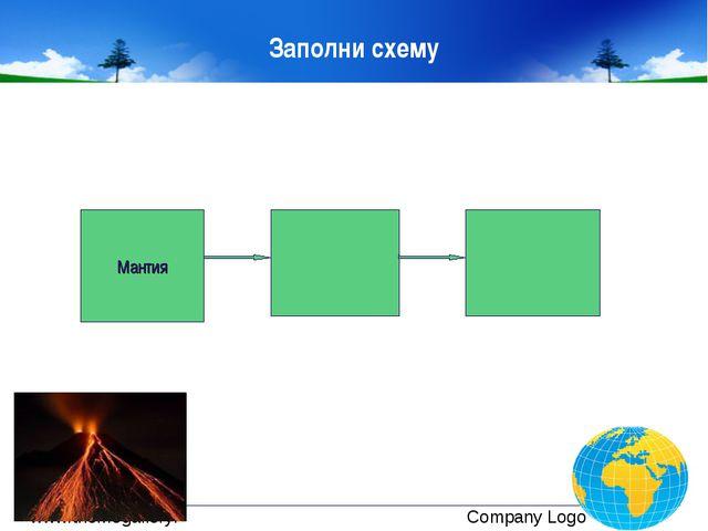 Заполни схему Мантия