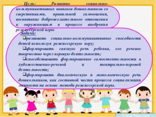 Prezentacii.com Цель: Развитие социально-коммуникативных навыков дошкольников