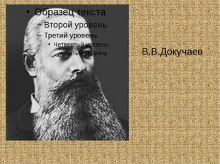 В.В.Докучаев