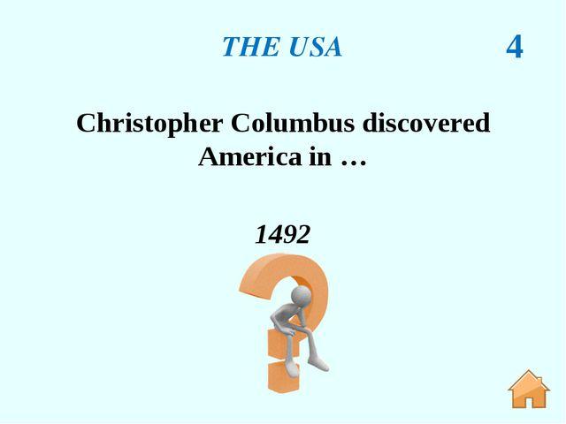 THE USA 57 Washington, D.C. The Capital of the USA.
