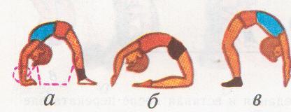 Как сделать мостик из положения лежа