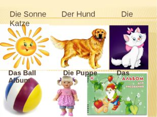Die Sonne Der Hund Die Katze Das Ball Die Puppe Das Album