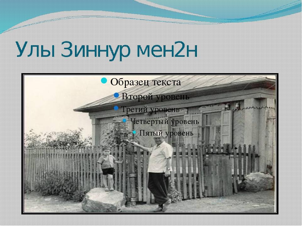 Улы Зиннур мен2н