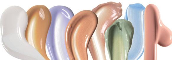 цветная база под макияж