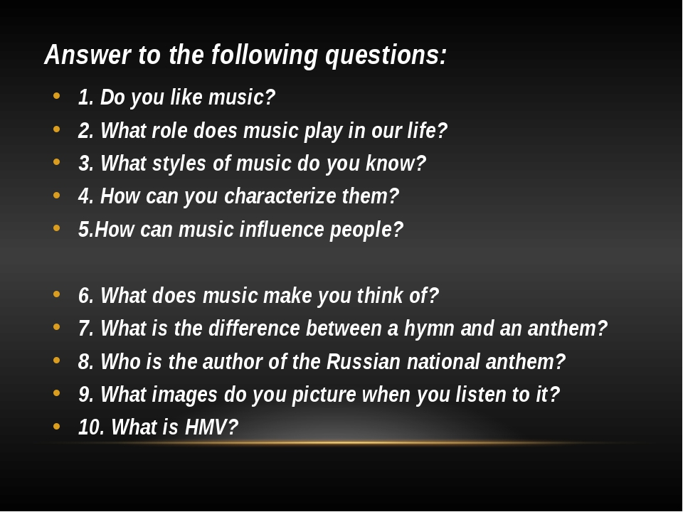 role of music in your life We discuss the fundamental question of 'what' music is and the role of music in human culture what is the role of music in our  dedicate your life.