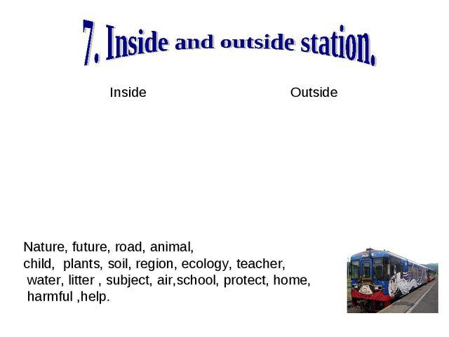 Nature, future, road, animal, child, plants, soil, region, ecology, teacher,...