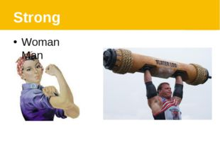 Strong Woman Man